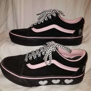 Lazy Oaf platform limited edition vans